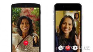 WhatsApp aplikace - video hovory
