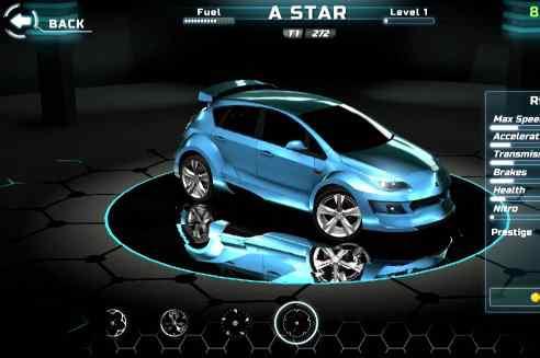 Android hra Grand Racing Auto 5 - závodní hry