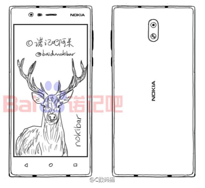 Nokia D1C chytrý telefon střední třídy