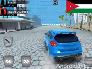 Android hra - Down Shift: Online Drifting ke stažení