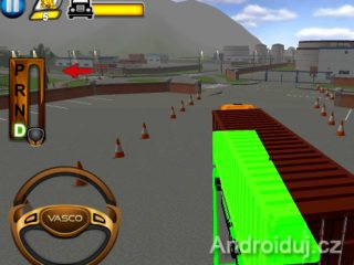 Extreme Truck Parking 3D android hra zdarma