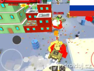 Zahrajte si android hru World of Cartoon Tanks zdarma
