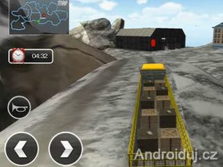 Uphill Extreme Truck Driver - android hra zdarma
