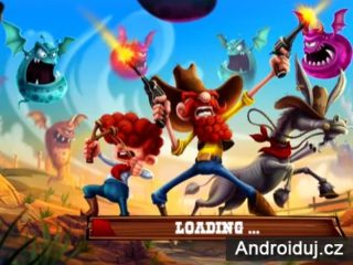 Ginger Rangers Android hra zdarma