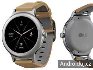 LG Watch Style chytré hodinky
