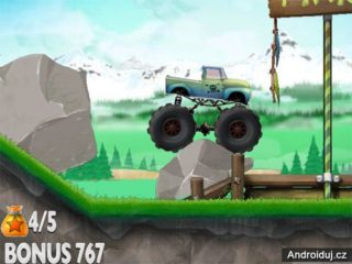 Online game HTML5 for mobile Monster Trials