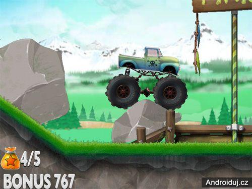 Online hra HTML5 pro mobil Monster Trials
