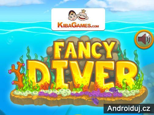 HTML5 hra Fancy Diver   online hry na mobil novinky