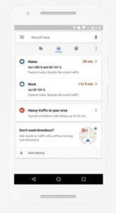 Real-time zobrazení dopravy v Google Mapy