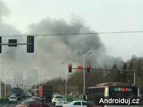 V Číně začala hořet továrna Samsung SDI, která je zodpovědná za baterie Note 7   novinky