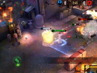 Star Wars Force Arena hra na mobil