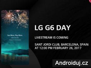 Živý přenos LG G6