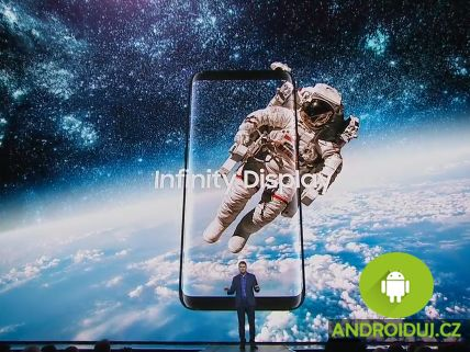 Samsung galaxy s8 infinity displej