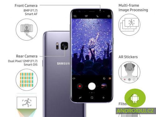 Samsung Galaxy S8 funkce fotoaparátu