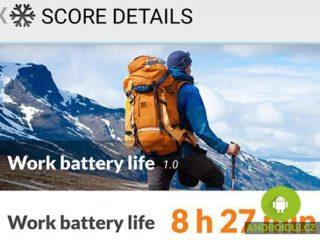 Samsung Galaxy S8 výdrz baterie