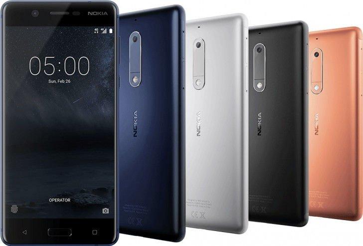 Nokia 5, Nokia 3 a Nokia 3310 brzy na trhu