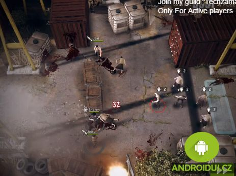 Android hra The Walking Dead