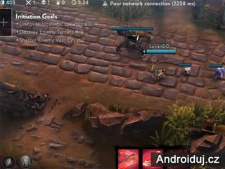 Android hra vainglory