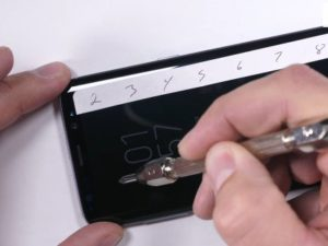 Test odolnosti Galaxy S8