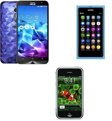 Apple, Samsung, Asus
