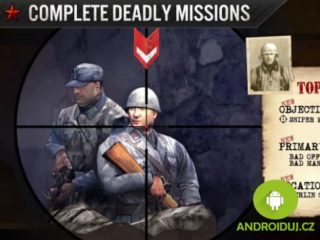 Akční android hra zdarma FRONTLINE COMMANDO: WW2