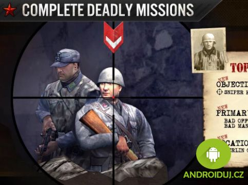 Action android game for free FRONTLINE COMMANDO: WW2