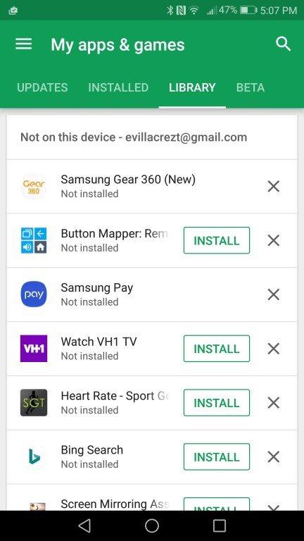Nový Google Play obchod