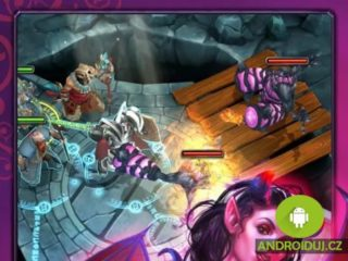 HEROES OF DESTINY android hra zdarma