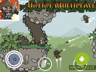 Android hra Doodle Army 2 : Mini Militia