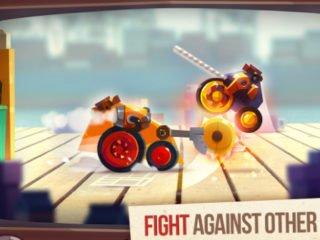 Akcňí android hra CATS: Crash Arena Turbo Stars