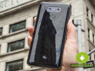 LG G6 mobilní telefon