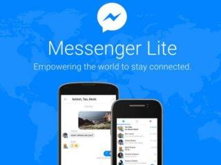 Facebook Messenger Lite ke stažení