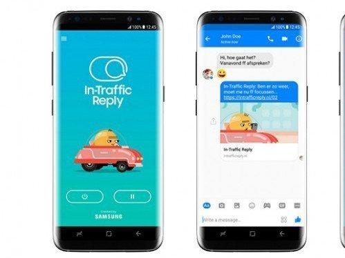 In-Traffic Reply app