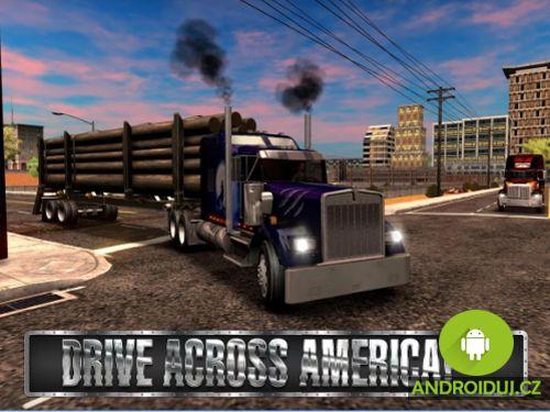 Simulátor hry Truck Simulator USA