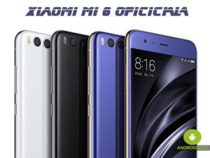 Xiaomi Mi 6 oficiálně - androiduj.cz