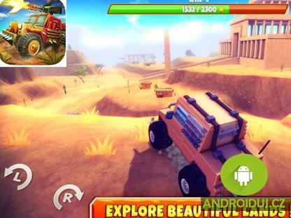 Závodní hry Zombie Offroad Safari