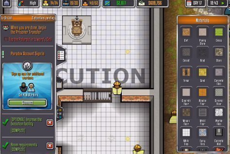 PRISON ARCHITECT : MOBILE android hra