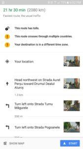 Google mapy aktualizace