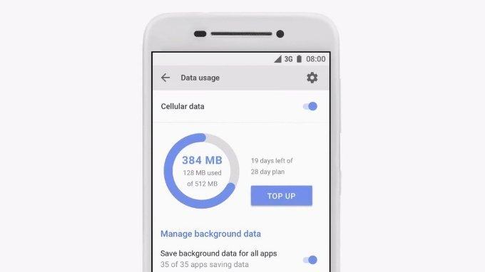 Android Go Manažer procesů