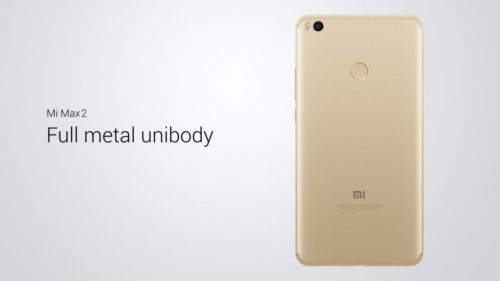 Xiaomi Mi Max 2 unibody