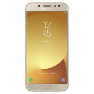 Samsung Galaxy J7 2017 ve zlaté variantě
