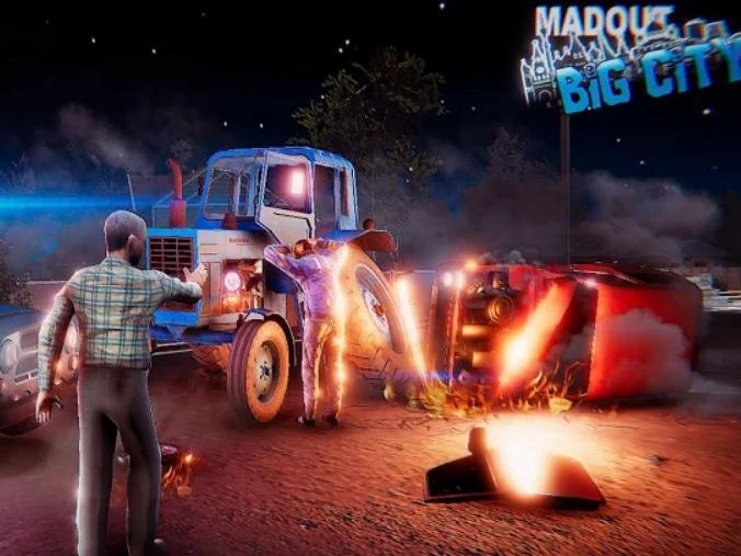 Multiplayer hra MadOut2 BigCityOnline