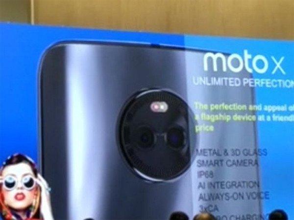 Hvězda Moto X (2017) v prezentaci se specifikacemi   novinky