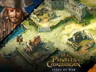 Pirates of the Caribbean: Tides of War. Strategie na mobilní telefon.   strategie hry novinky hry
