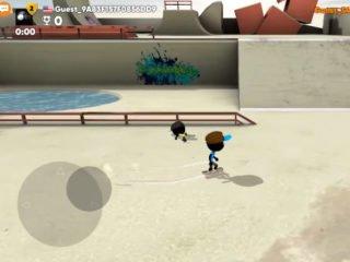 Stickman Skate Battle android multiplayer