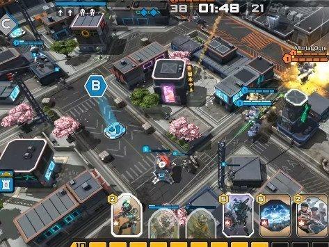 hra na mobil Titan Fall: Assault