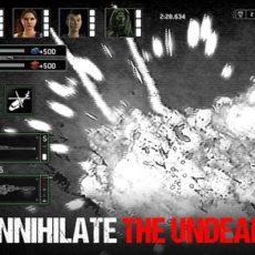 Rozstřílejte zombie nepřátele v gamese Zombie Gunship Survival