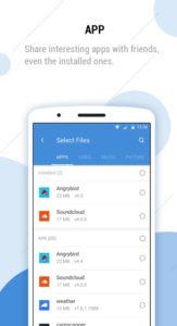 Ace File Manager (Explorer & Transfer) - Výběr souborů