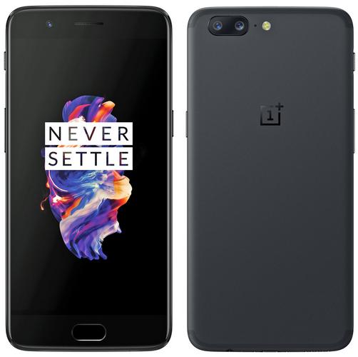 Přední i zadní část telefonu OnePlus 5