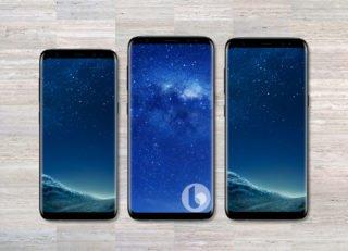 Galaxy Note 8 uprostřed